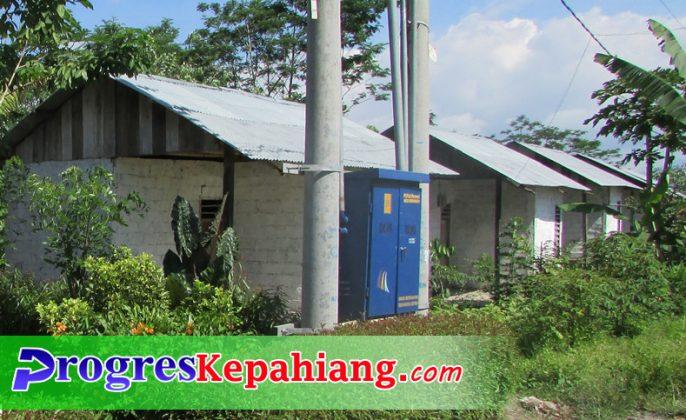 Rumah warga transmigrasi