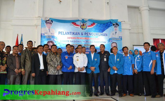 Foto bersama KNPI Kepahiang
