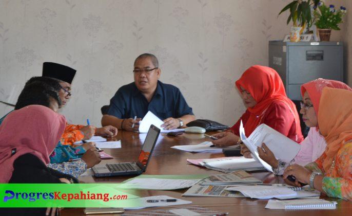 Hearing Komisi I dan Dinas Dikpora