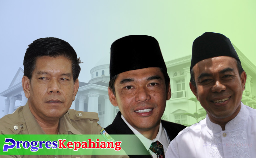 tiga calon sekda