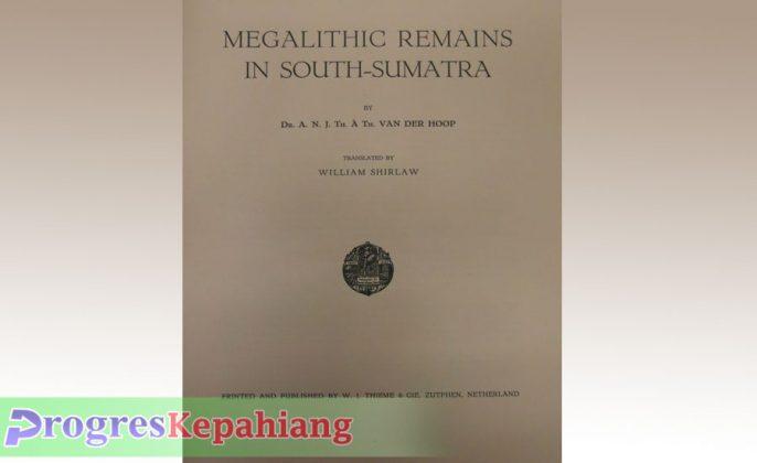 Buku Megalithische oudheden in Zuid-Sumatra