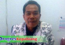 Ketua PGRI Kepahiang Hartono