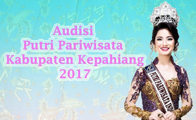 Audisi putri pariwisata kepahiang 2017