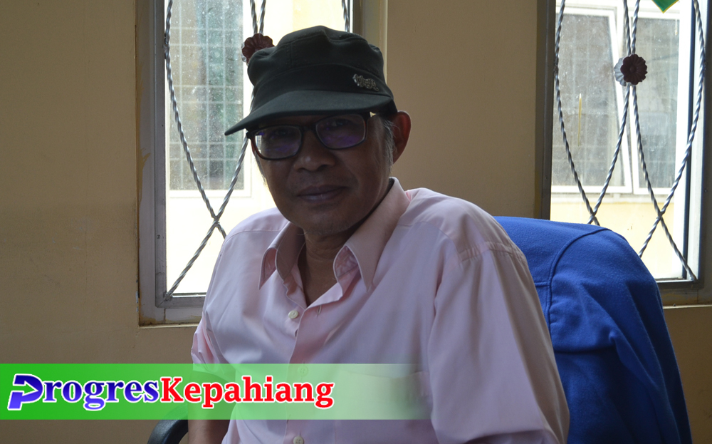 Kasi Cagar Budaya Dikbud Emong Soewandi