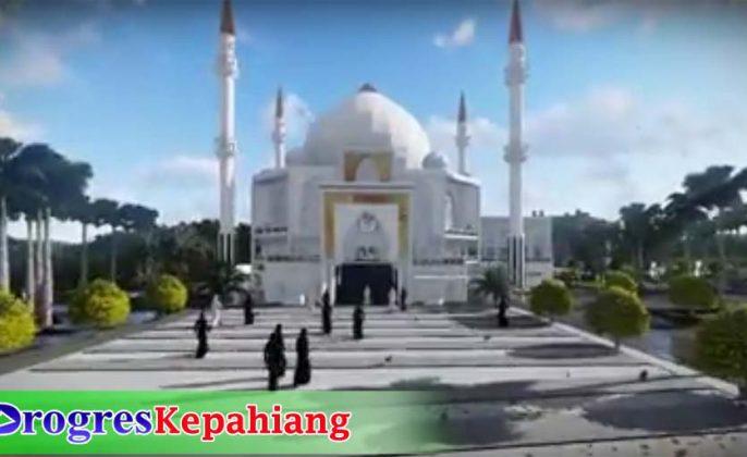 Rancangan Masjid Agung Kepahiang