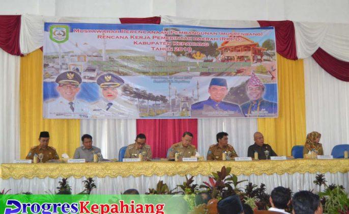 Musrenbang Kabupaten Kepahiang