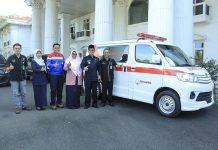 ambulans dari pertamina