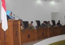Netti Herawati paripurna DPRD