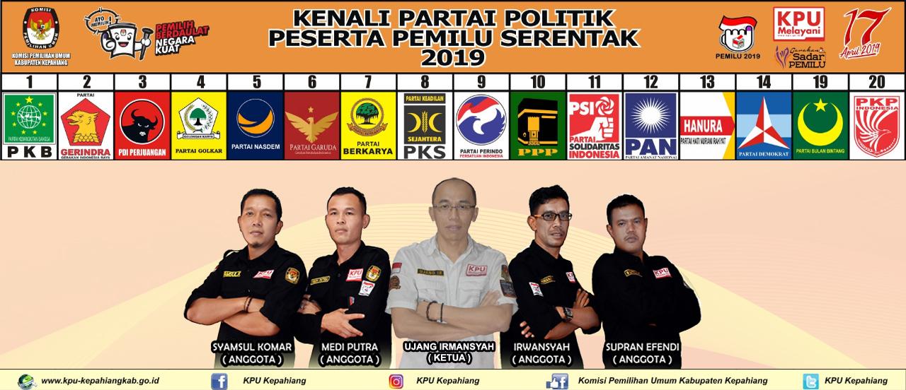Parpol Peserta Pemilu 2019