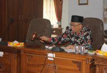 Rapat gabungan komisi DPRD Kepahiang