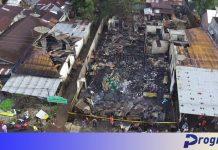 Kebakaran dari drone