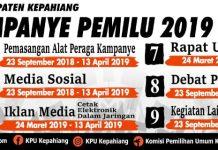 Kampanye Pemilu 2019 - KPU Kepahiang