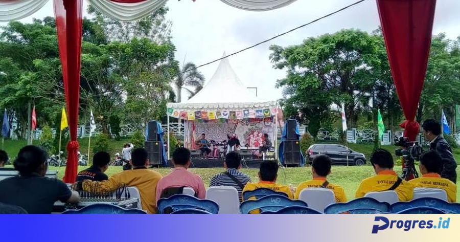 kreasi pentas seni millenials democrazy acoustic competition
