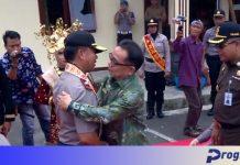 Kedatanagn Kapolda Bengkulu