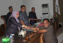 Pemandangan umum kepala daerah terhadap Raperda inisiatif