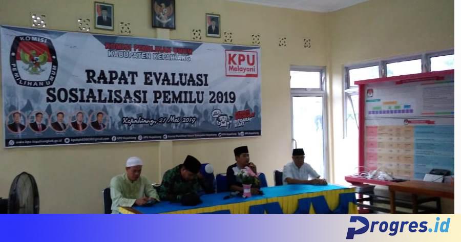 rapat evaluasi pemilu