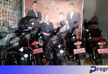 Sepeda motor dinas panwascam