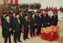 Sidang Paripurna Istimewa Pengucapan Sumpah Janji Anggota DPRD 2019-2024