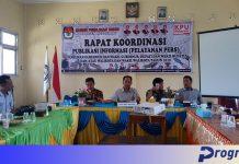 Rakor KPU-jurnalis