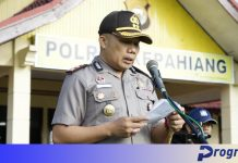 Kapolres AKBP Suparman