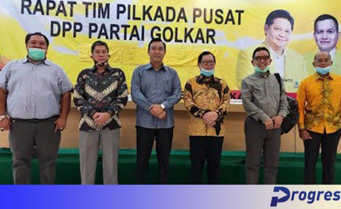 Hidayat-Nata di DPP Golkar