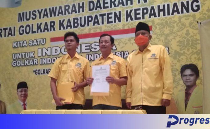 Darmawan mencalonkan diri sebagai ketua dpd 2