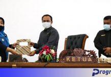 Ketua DPRD dan Wabup