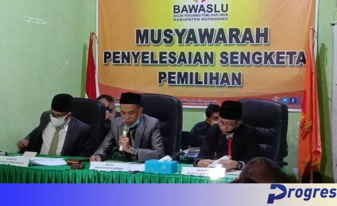 Sidang Bawslu Kepahiang