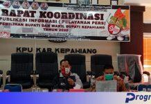 Pelayanan pers KPU