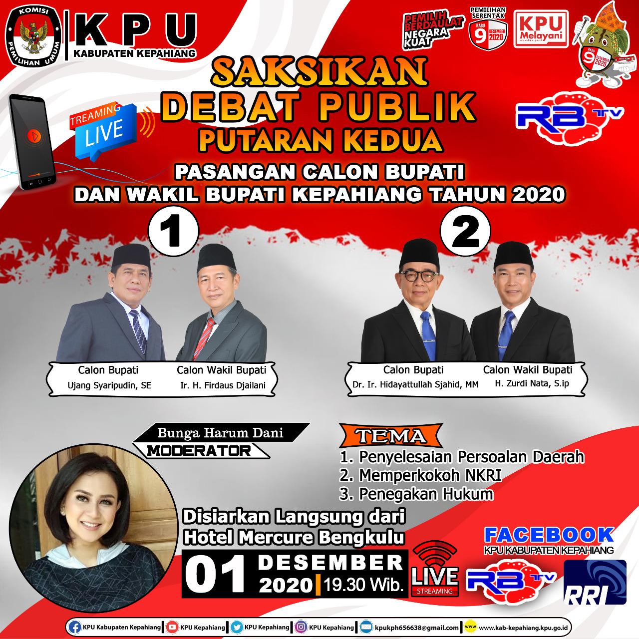 Debat Kandidat Putaran 2