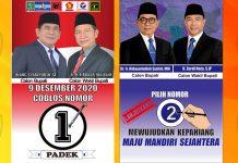 Banner Iklan Kampanye Paslon Kepahiang 2020
