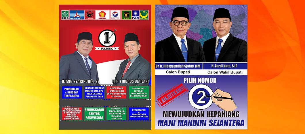 Iklan Kampanye Pemilihan Bupati Wabup Kepahiang 2020