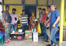 Santuni Korban Kebakaran, PWI Kepahiang dan SMSI Berkolaborasi