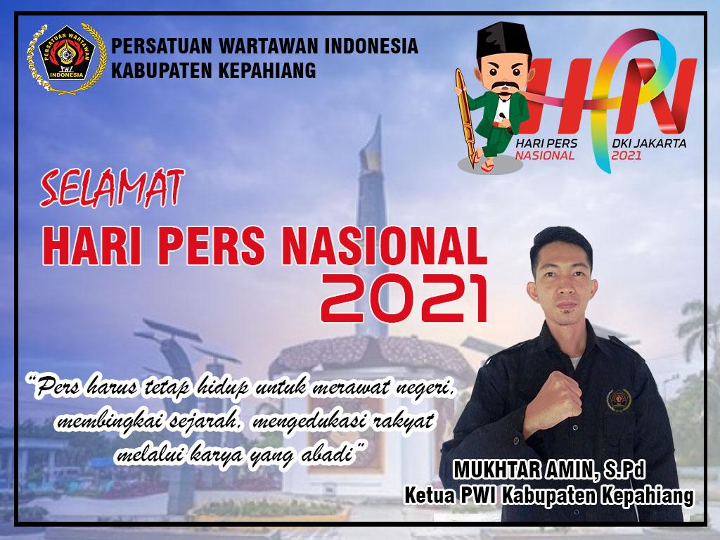 Hari Pers Nasional 2021