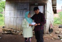 Bantu Agar Bisa Punya Rumah Lagi, Ketua DPRD Kepahiang Santuni Korban Kebakaran