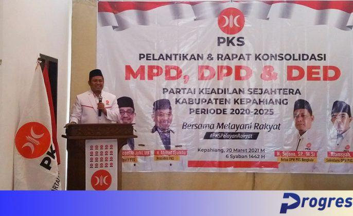 Sujono ketua dpw pks bengkulu