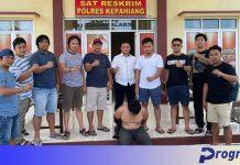 Aniaya Istri, Oknum Kadus dari Desa Air Raman Diringkus Polisi
