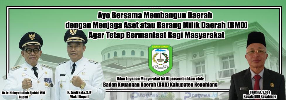 Banner BKD Kepahiang