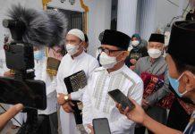 Bupati Ingatkan Ibadah di Masjid Harus Diiringi Prokes