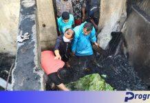 Terbaring Sakit, Amron Tak Terselamatkan Saat Kebakaran di Desa Taba Saling