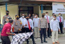 Polres Kepahiang Kawal Penyaluran Bantuan Beras PPKM 69.650 Ton